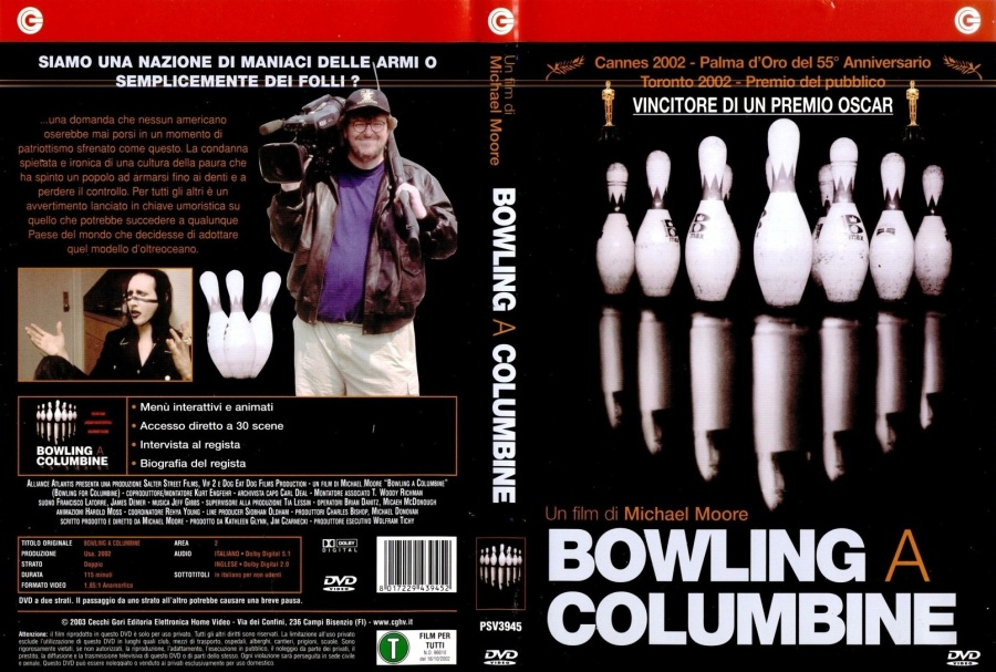 "bowling for columbine summary essay By emily wanklyn film maker, author and political activist, michael moore, created controversy in 2002 with his american documentary ""bowling for columbine"" the documentary explores the columbine school shooting, gun laws, and why americans are so obsessed with violence and fear."